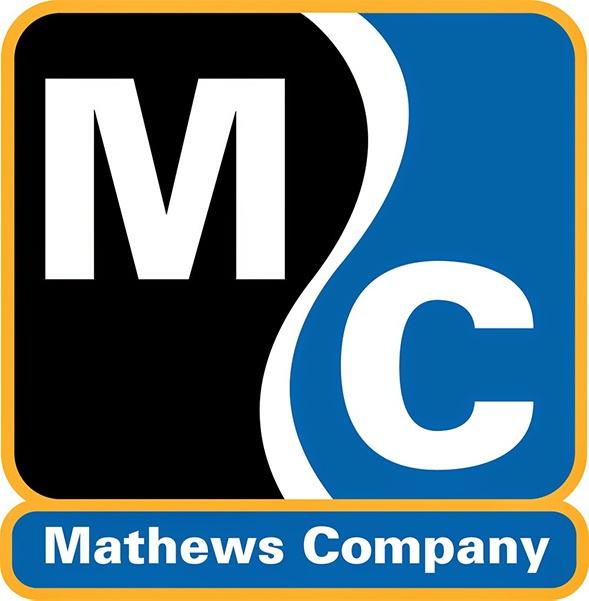 mathews company logo